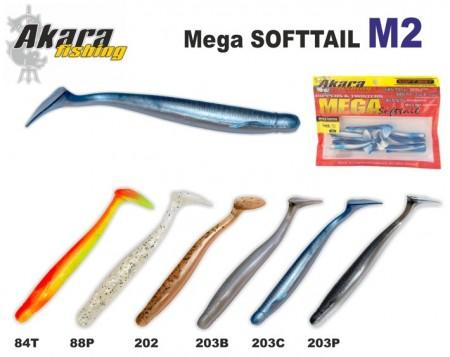 Softail SHAD 5cm Bl�/Glitter. M-2.202