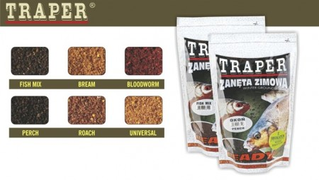 Groundbait TRAPER «Winter READY» Bloodworm (750 g