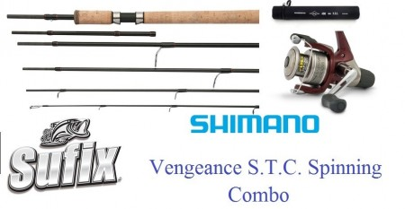 SHIMANO Vengeance S.T.C. Spinning 240/270 COMBO